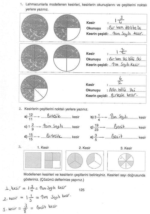 4 Sinif Matematik Ders Kitabi Ata Sayfa 125 129 132 136 141