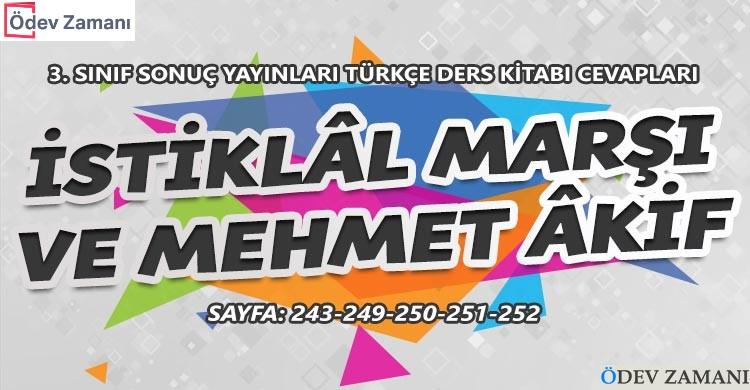 İstiklal Marşı ve Mehmet Akif Dinleme Metni Cevapları